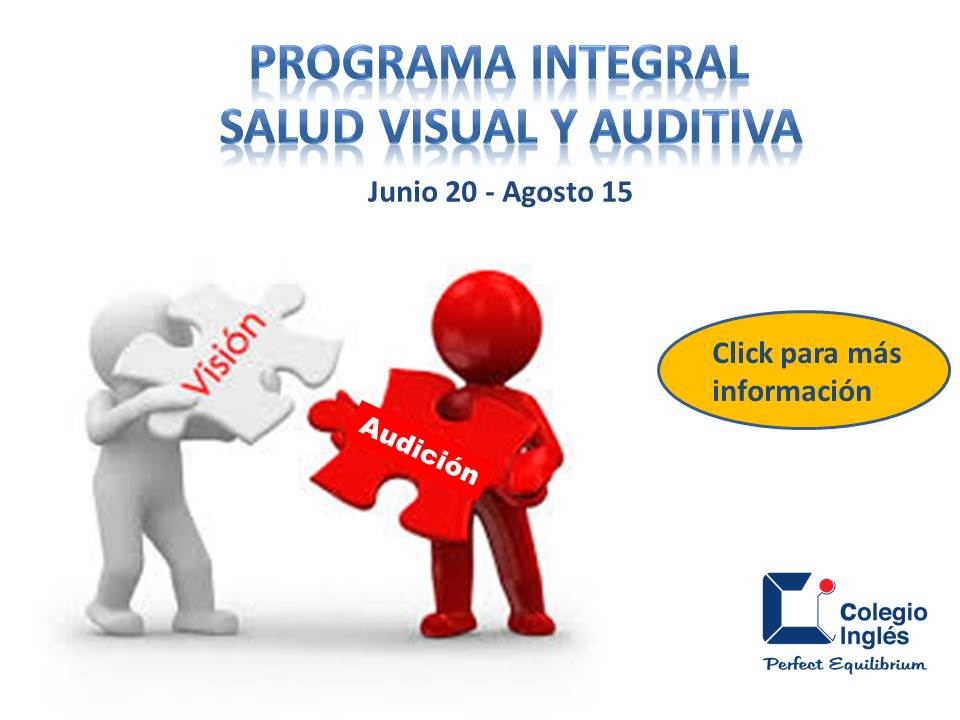 Programa Integral Salud Visual y Auditiva
